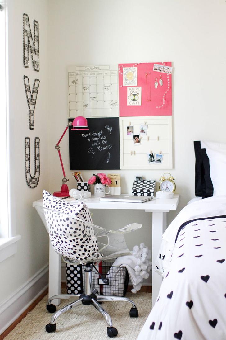 Decora O Home Office Blog Tamy Paschuetto ~ Como Fazer Um Home Office No Quarto